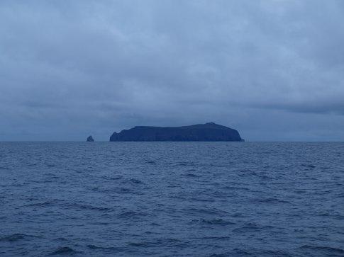 Approaching Wolf Island