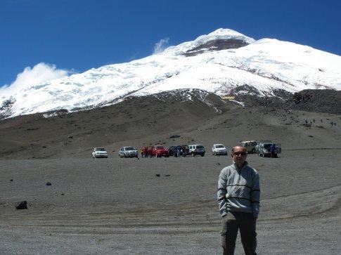 Andes - Cotopaxi - just below the glacier