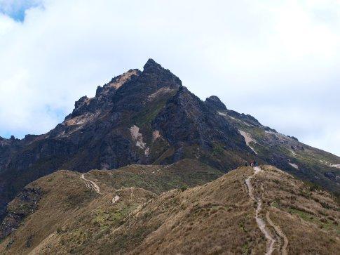 Quito - trail to the summit of Rucu Pichincha (4680m)