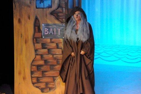 Panto - Jo aka 'wicked witch of West Caicos'