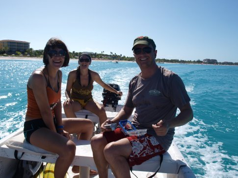 Day out on the skiff