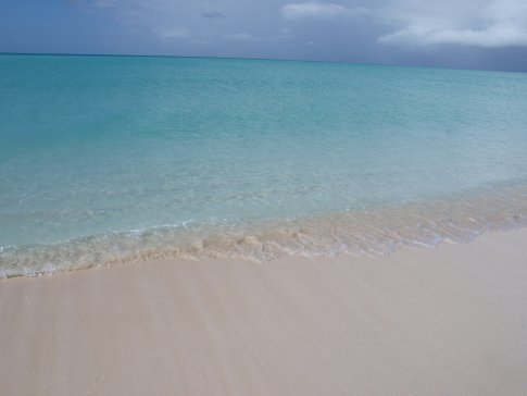 Fort George Cay - secluded beach