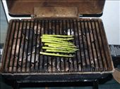 The king of all BBQ's - course 3 - Asparagas: by dannygoesdiving, Views[441]
