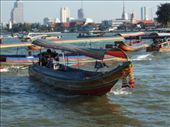 Long Tail Boats - the only way to travel down the river: by dannygoesdiving, Views[543]