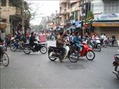 Hanoi - street life: by dannygoesdiving, Views[658]