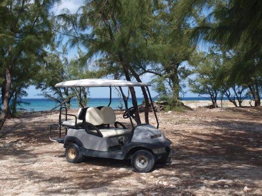 Getting around Salt Cay