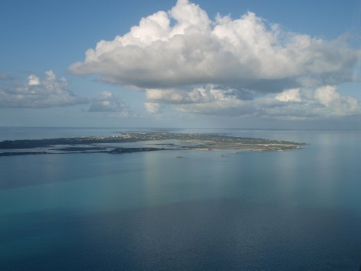 Providenciales from the air