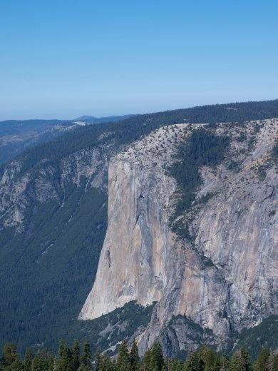 Yosemites - El Capitan (viewed from Sentinel Dome)