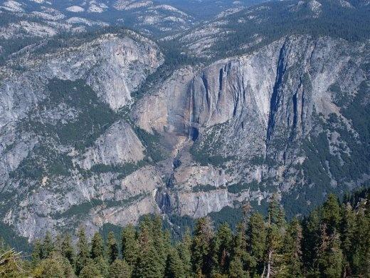 Yosemites - Yosemite Valley & Falls (viewed from Sentinel Dome)