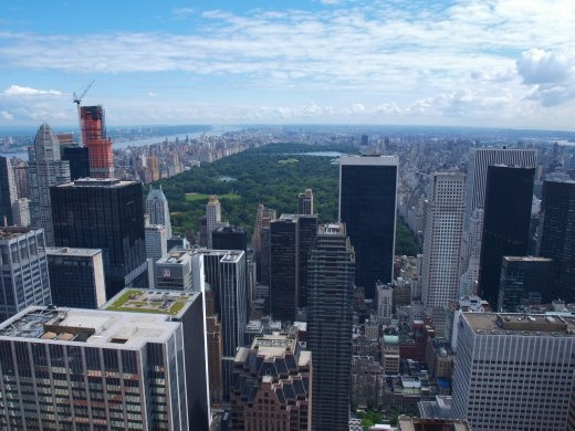 Views from top of Rockefeller Centre