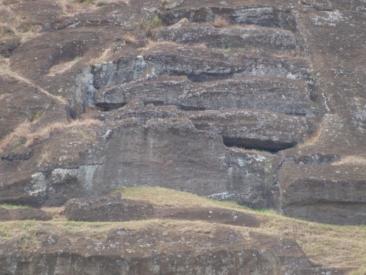 Rano Kau - a production line that Henry T Ford would have been proud of !