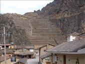 Ollantaytambo - Inca ruins viewed from town: by dannygoesdiving, Views[123]