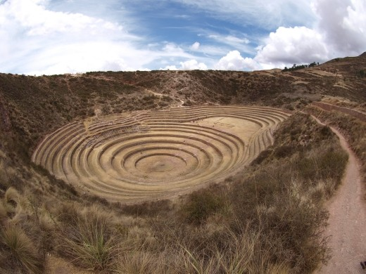 Moray - agricultural terracing