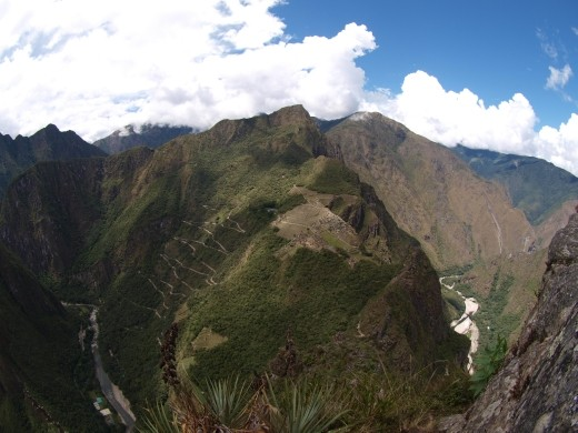 Machu Picchu - viewed from Wayna Picchu