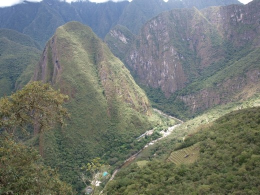 Machu Picchu - views from Wayna Picchu