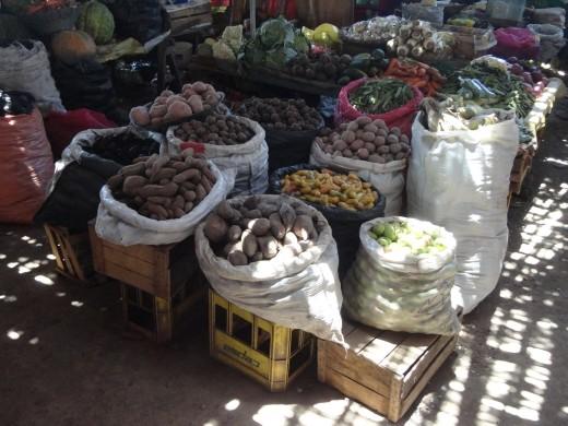 Nazca - local market