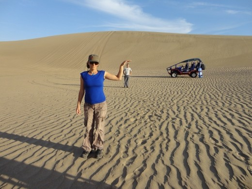 Nazca - fun in the desert