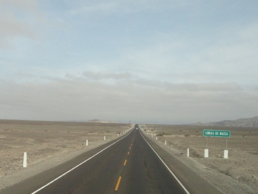 Nazca - Pan American highway & the Nazca Lines