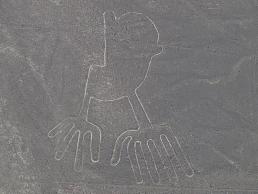 Nazca - Nazca Lines - hands