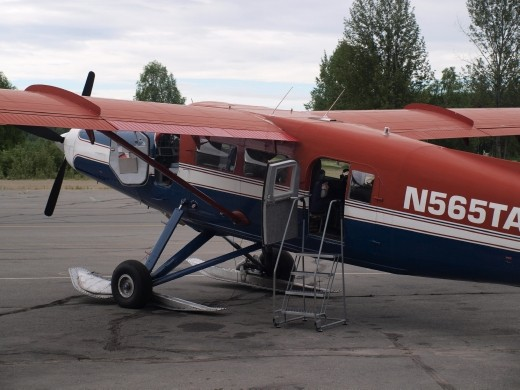 Flying with Talkeetna Air Taxi