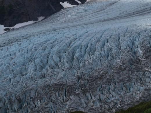 Harding Ice Field Trail - exit glacier