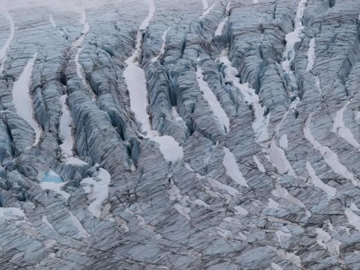 Harding Ice Field Trail -