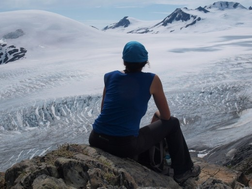 Harding Ice Field - End of the trail