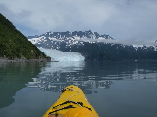 Kayak Day - Aialik Glacier