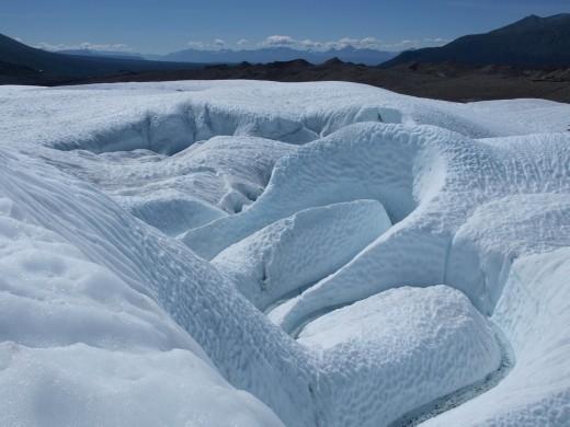 Ice Hiking on Root Glacier