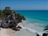 Tulum Ruins - beach view: by dannygoesdiving, Views[218]