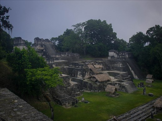 Tikal - The North Acropolis
