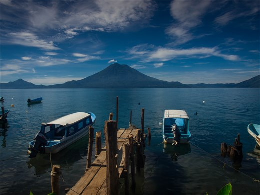 Lake Atilan - view from Santa Cruz
