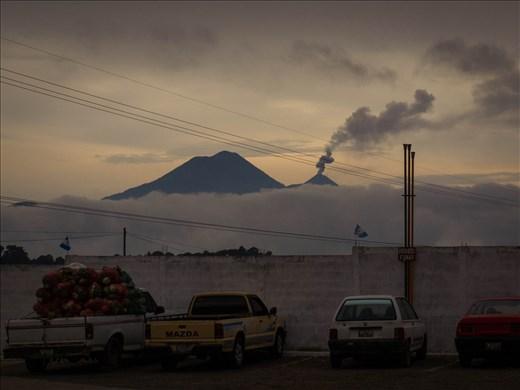 Volcano Fuergo blowing off steam