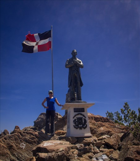 The summit of Pico Duarte