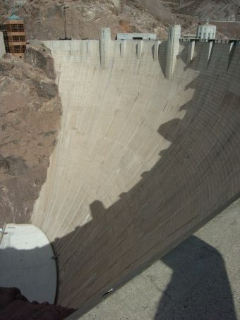 Hoover Dam (also known as Boulder Dam)
