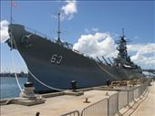 Battleship Missouri - Cher straddled those guns don't ya know !: by dannygoesdiving, Views[2103]
