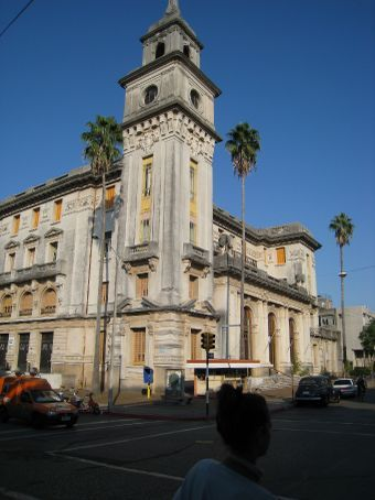 Cool colonial bank in Salto