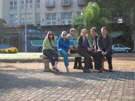 The Uraguay drinking team