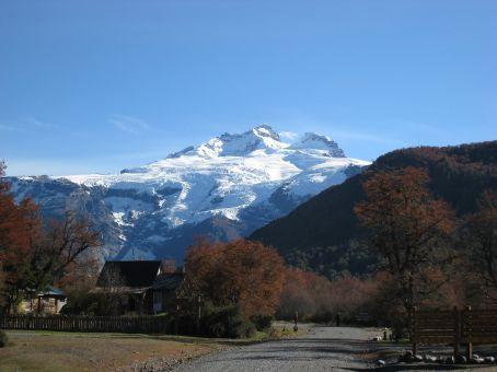Mt Tronador.. means thunder as thats what the avalanches sound like.