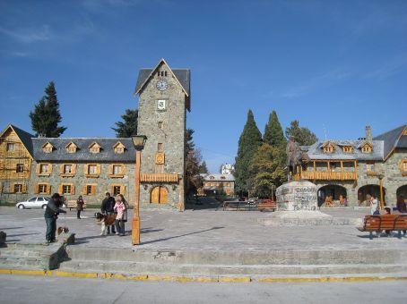 Bariloche town centre.