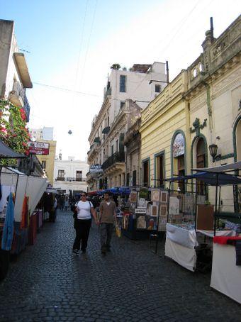 San Telmo, BA. Antiques market that went on for miles.