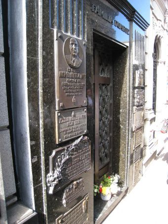 Tomb of Evita - Dont cry for me Argentina.