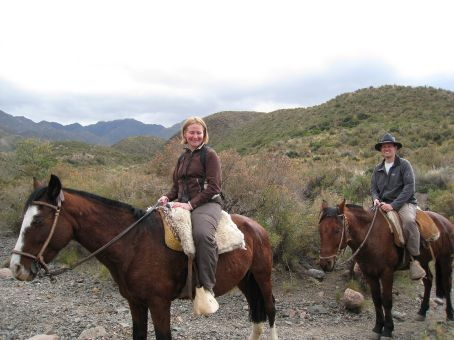 Going Gaucho in Andes foothills.
