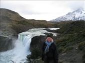Very cold waterfall in the national park (and quite chilly Sarah too).: by dave_sarah, Views[225]