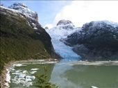 Serrano glacier and lake.: by dave_sarah, Views[234]