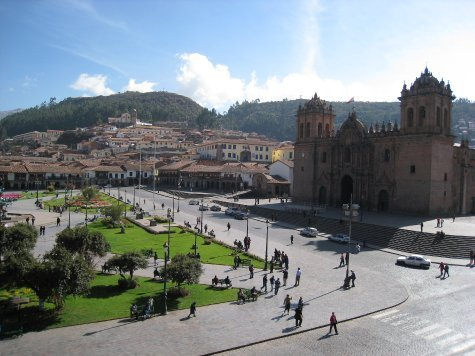 Cuzco, our base for a week where we went on amaazon and Inca trips.