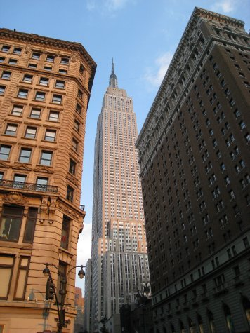 Empire State, tallest building in NY (again).