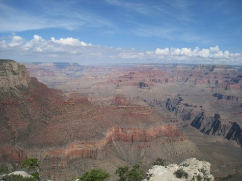 The canyon.