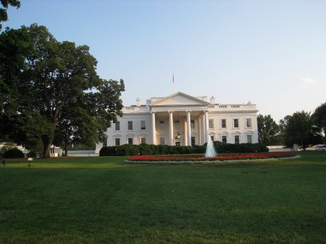 The White House. Its a lot smaller than you think!