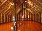 Carved Mauri meeting house in Waitangi.: by dave_sarah, Views[226]